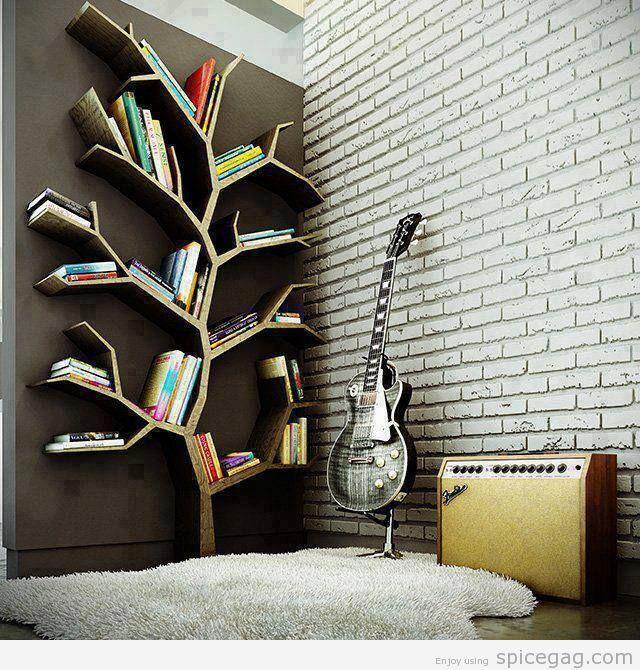 librero de ramas